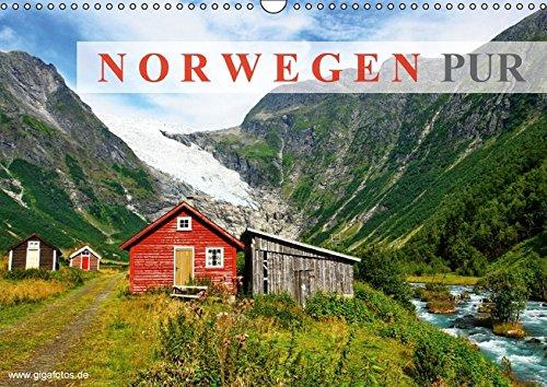 9783664827503: Norwegen PUR (Wandkalender 2017 DIN A3 quer): Unverfälschte Landschaften und Orte in Norwegen (Monatskalender, 14 Seiten )