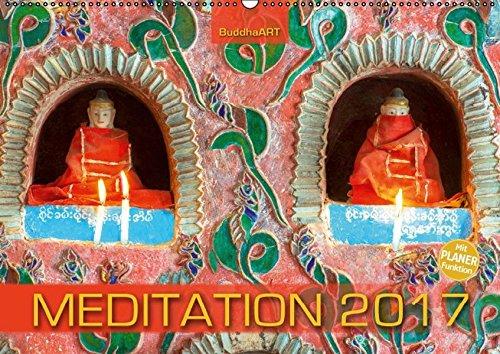9783664827770: MEDITATION mit Terminplaner (Wandkalender 2017 DIN A2 quer): Meditieren und Träumen mit unvergesslichen Fotografien (Geburtstagskalender, 14 Seiten)