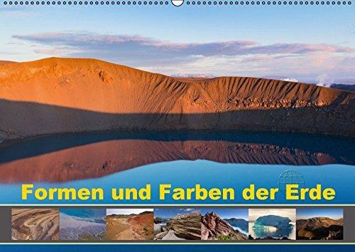 9783664829514: Formen und Farben der Erde (Wandkalender 2017 DIN A2 quer): Unser Planet - eine faszinierende Komposition aus Formen und Farben (Monatskalender, 14 Seiten)