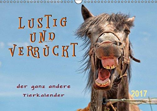 9783664831043: Lustig und verrückt - der ganz andere Tierkalender (Wandkalender 2017 DIN A3 quer): Schöne Tierbilder, die Freude machen. (Monatskalender, 14 Seiten )