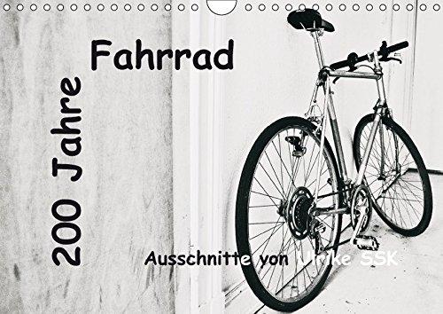 9783664831388: 200 Jahre Fahrrad - Ausschnitte von Ulrike SSK (Wandkalender 2017 DIN A4 quer): Das Fahrrad - in 200 Jahren von der Erfindung zum Alltagsgegenstand (Monatskalender, 14 Seiten )