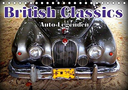 9783664832255: Auto-Legenden: British Classics (Tischkalender 2017 DIN A5 quer): Britische Oldtimer in Havanna (Monatskalender, 14 Seiten )
