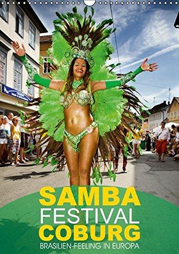 9783664841165: Samba-Festival Coburg - Brasilien-Feeling in Europa (Wandkalender 2017 DIN A3 hoch): Internationales Samba-Festival in Coburg (Monatskalender, 14 Seiten)
