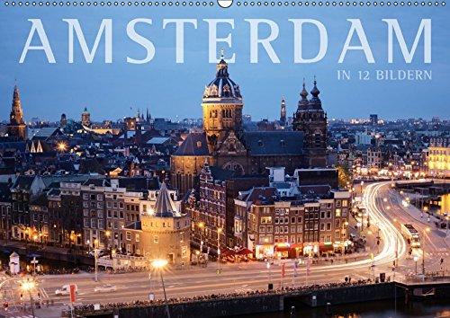 9783664843299: Amsterdam in 12 Bildern (Wandkalender 2017 DIN A2 quer): Mit Amsterdam durchs ganze Jahr (Monatskalender, 14 Seiten )