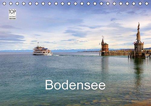 9783664844630: Bodensee (Tischkalender 2017 DIN A5 quer): Eine fotografische Rundreise um den Bodensee mit Besuchen in Lindau, Friedrichshafen, Meersburg und vielen ... Orten (Monatskalender, 14 Seiten )