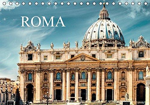 9783664846061: Roma (Tischkalender 2017 DIN A5 quer): Bilderreise durch das antike Rom. (Monatskalender, 14 Seiten)