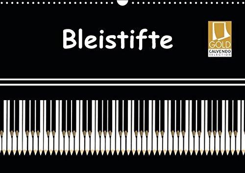 9783664846672: Bleistifte (Wandkalender 2017 DIN A3 quer): Abstrakte Bleistift-Kunst (Monatskalender, 14 Seiten)