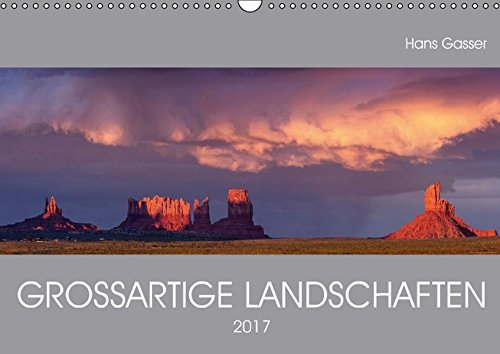 9783664851942: GROSSARTIGE LANDSCHAFTEN (Wandkalender 2017 DIN A3 quer): Panoramakalender von den schönsten Gegenden unserer Erde (Monatskalender, 14 Seiten)