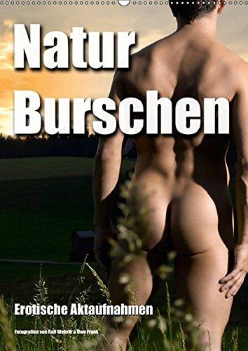 9783664853434: Naturburschen (Wandkalender 2017 DIN A2 hoch): Erotische Aktaufnahmen (Monatskalender, 14 Seiten)