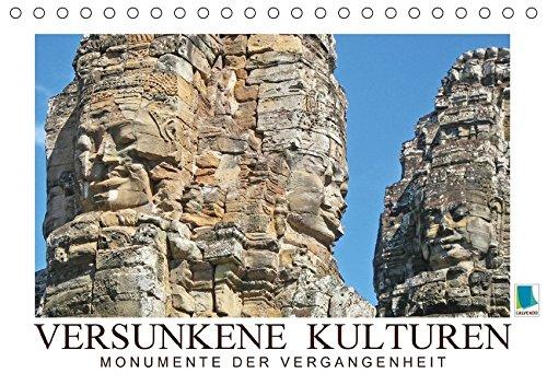 9783664859245: Versunkene Kulturen - Monumente der Vergangenheit (Tischkalender 2017 DIN A5 quer): Steinerne Zeugen versunkener Kulturen rund um die Welt (Monatskalender, 14 Seiten )