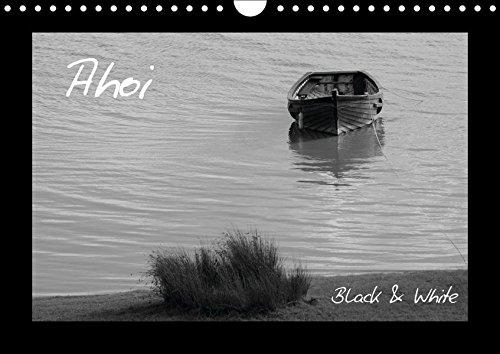 9783664870868: Ahoi (Wandkalender 2017 DIN A4 quer): Black & White (Monatskalender, 14 Seiten )