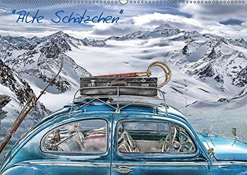9783664878772: Alte Schätzchen (Wandkalender 2017 DIN A2 quer): Legendäre Oldtimer (Monatskalender, 14 Seiten )