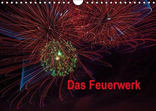9783664879557: Das Feuerwerk (Wandkalender 2017 DIN A4 quer): Lichtmalerei (Monatskalender, 14 Seiten )
