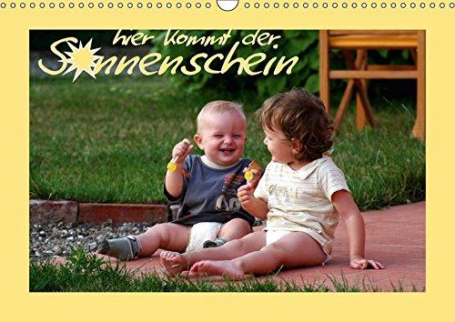 9783664882700: hier kommt der Sonnenschein (Wandkalender 2017 DIN A3 quer): Kleinkinder und ihre Welt (Monatskalender, 14 Seiten )
