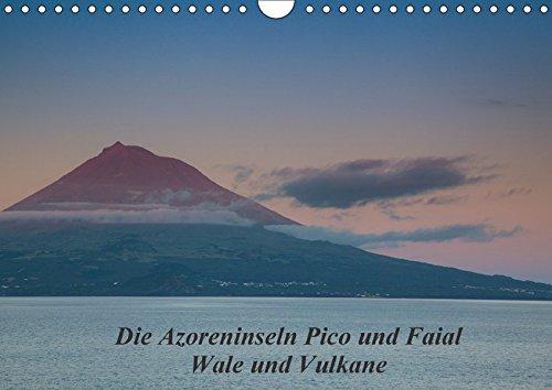 9783664884896: Die Azoreninseln Pico und Faial (Wandkalender 2017 DIN A4 quer): Wale und Vulkane (Monatskalender, 14 Seiten )