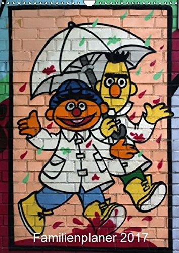 9783664891405: Familienkalender für Kids (Wandkalender 2017 DIN A3 hoch): Impressionen Kindergraffitis (Familienplaner, 14 Seiten )