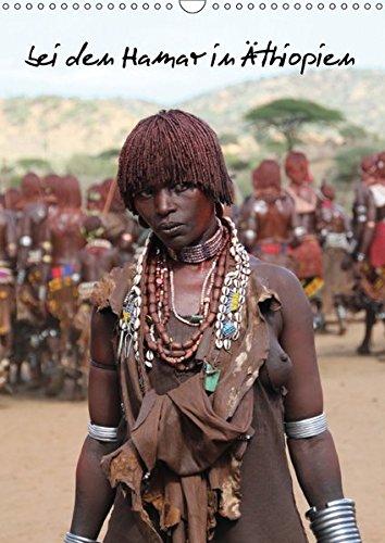 9783664891580: bei den Hamar in Äthiopien (Wandkalender 2017 DIN A3 hoch): Kalender mit Personenaufnahmen (Monatskalender, 14 Seiten )