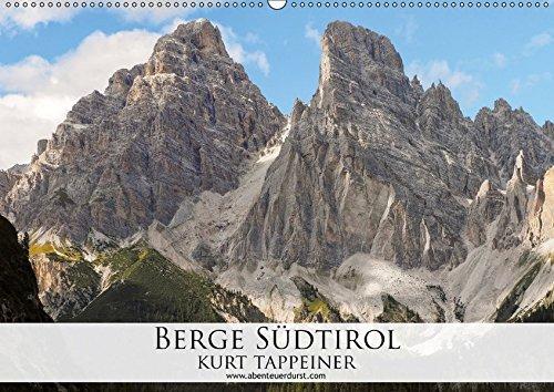 9783664898794: Berge Südtirol (Wandkalender 2017 DIN A2 quer): Die Bergwelt von Südtirol (Monatskalender, 14 Seiten )