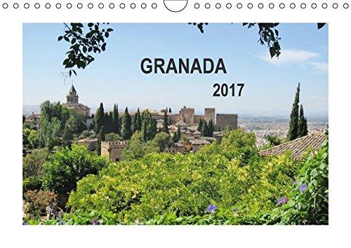9783664901234: Granada (Wandkalender 2017 DIN A4 quer): Magischer Ort (Monatskalender, 14 Seiten )