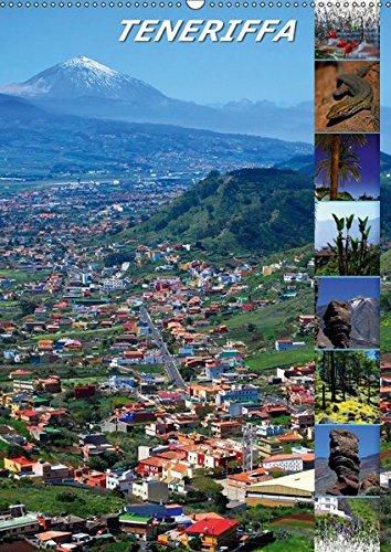 9783664901661: TENERIFFA (Wandkalender 2017 DIN A2 hoch): Landschaft der Insel Teneriffa (Monatskalender, 14 Seiten )