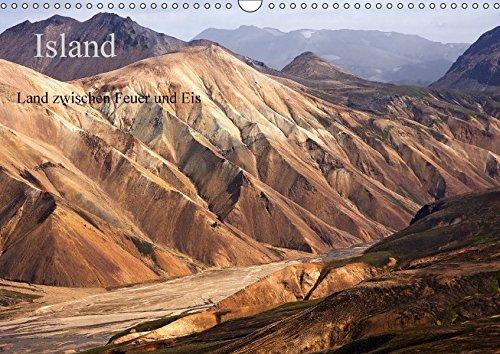 9783664903108: Island - Land zwischen Feuer und Eis (Wandkalender 2017 DIN A3 quer): Eine kontrastreiche Reise über die wunderschöne Vulkaninsel (Monatskalender, 14 Seiten )