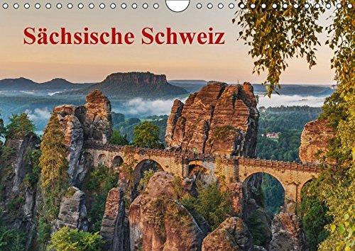 9783664909742: Sächsische Schweiz (Wandkalender 2017 DIN A4 quer): Traumhafte Landschaft im Elbsandsteingebirge (Monatskalender, 14 Seiten )