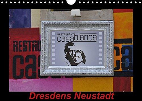 9783664912193: Dresdens Neustadt (Wandkalender 2017 DIN A4 quer): Graffits und Hausansichten in Dresdens Neustadt (Monatskalender, 14 Seiten )