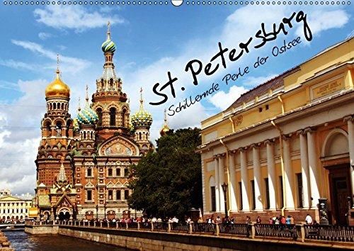 9783664917495: St. Petersburg (Wandkalender 2017 DIN A2 quer): Schillernde Perle der Ostsee (Monatskalender, 14 Seiten )