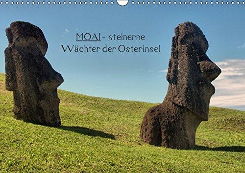 9783664917594: MOAI - steinerne Wächter der Osterinsel (Wandkalender 2017 DIN A3 quer): 12 Monate mit den berühmten Steinköpfen der Osterinsel (Monatskalender, 14 Seiten )