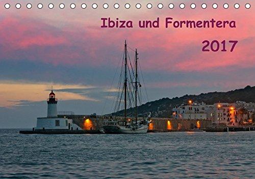 9783664918652: Ibiza und Formentera (Tischkalender 2017 DIN A5 quer): Altstadtgassen, Landschaften, Abendrot und weitere Impressionen festgehalten in dreizehn ... Fotografien. (Monatskalender, 14 Seiten )