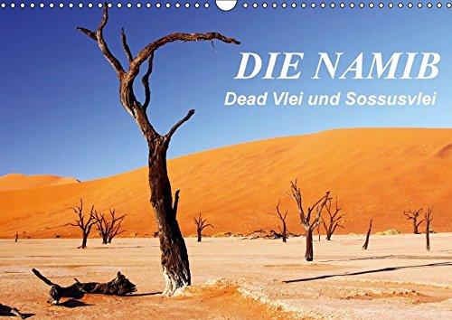 9783664927050: DIE NAMIB (Wandkalender 2017 DIN A3 quer): Dead Vlei und Sossusvlei (Monatskalender, 14 Seiten )