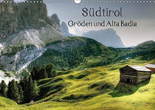 9783664931002: Südtirol - Gröden und Alta Badia (Wandkalender 2017 DIN A3 quer): Traumreise durch die Dolomiten (Monatskalender, 14 Seiten )