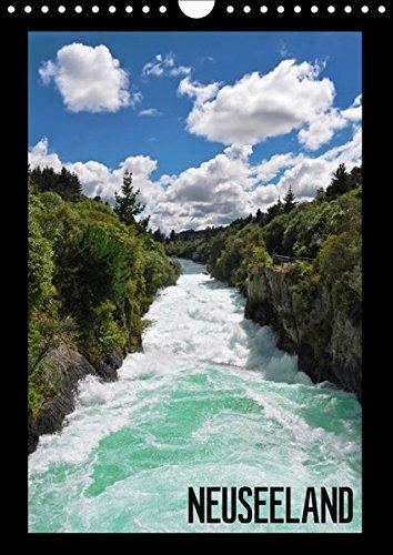 9783664953233: Reise durch Neuseeland (Wandkalender 2017 DIN A4 hoch): Atemberaubende Bilder der Naturschönheiten Neuseelands (Monatskalender, 14 Seiten )