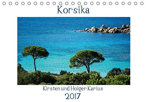 9783664960347: Korsika 2017 (Tischkalender 2017 DIN A5 quer): Korsika - Wilde Schönheit (Monatskalender, 14 Seiten )