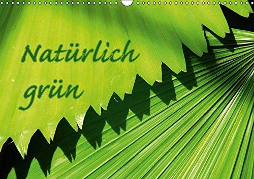 9783664965687: Natürlich grün (Wandkalender 2017 DIN A3 quer): Bilder die unsere Natur in Grün wiederspiegeln (Monatskalender, 14 Seiten )