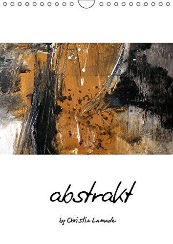 9783664974498: abstrakt (Wandkalender 2017 DIN A4 hoch): abstrakte Malerei in Erdtönen (Monatskalender, 14 Seiten )