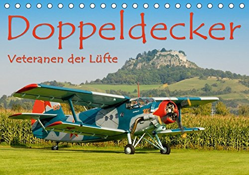 9783664981465: Doppeldecker - Veteranen der Lüfte (Tischkalender 2017 DIN A5 quer): Legendäre Flugzeugveteranen in Aktion, fotografiert von Markus Keller (Monatskalender, 14 Seiten )