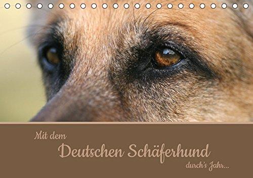 9783664984176: Mit dem Deutschen Schäferhund durch's Jahr (Tischkalender 2017 DIN A5 quer): Monatskalender für Schäferhundfreunde (Monatskalender, 14 Seiten )