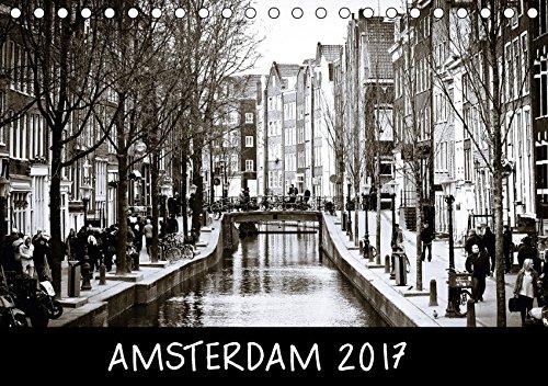 9783664987023: Amsterdam 2017 (Tischkalender 2017 DIN A5 quer): Impressionen aus Amsterdam (Monatskalender, 14 Seiten )