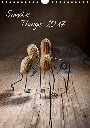 9783664988785: Simple Things 2017 (Wandkalender 2017 DIN A4 hoch): Kleine Geschichten mit Erdnussmännchen (Planer, 14 Seiten )