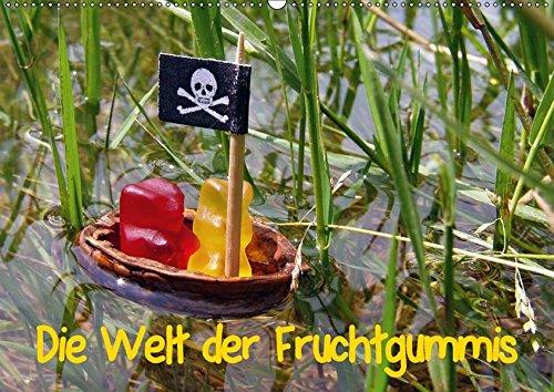 9783665006990: Die Welt der Fruchtgummis (Wandkalender 2017 DIN A2 quer): Süße Models - fruchtige ART GALLERY (Monatskalender, 14 Seiten )