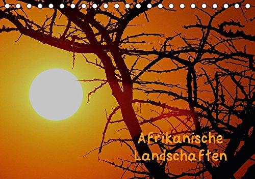 9783665011895: Afrikanische Landschaften (Tischkalender 2017 DIN A5 quer): Farbenpracht und Weite in Namibia (Monatskalender, 14 Seiten )