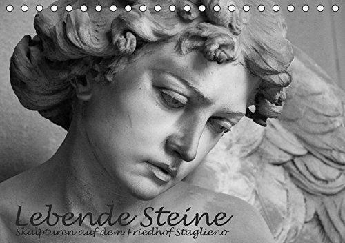 9783665020361: Lebende Steine - Skulpturen auf dem Friedhof Staglieno (Tischkalender 2017 DIN A5 quer): Diese Fotos entstanden auf dem