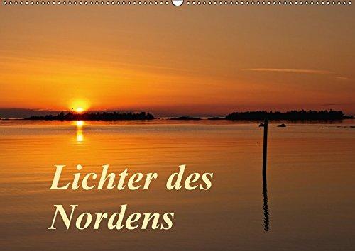 9783665021771: Lichter des Nordens (Wandkalender 2017 DIN A2 quer): Skandinaviens Lichterstimmungen (Monatskalender, 14 Seiten )