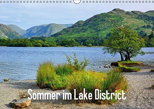 9783665035303: Sommer im Lake District (Wandkalender 2017 DIN A3 quer): Sommerliche Impressionen aus dem englischen Lake District (Monatskalender, 14 Seiten )