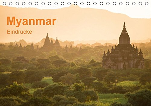 9783665040871: Myanmar - Eindrücke (Tischkalender 2017 DIN A5 quer): Myanmar- Die Zeit scheint stehen geblieben zu sein ... (Monatskalender, 14 Seiten )