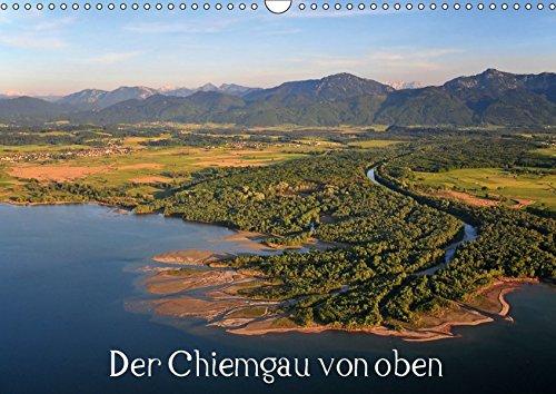 9783665046699: Der Chiemgau von oben (Wandkalender 2017 DIN A3 quer): Luftaufnahmen des Chiemgaus und des Chiemsees (Monatskalender, 14 Seiten )