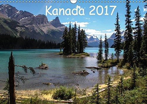 9783665046996: Kanada 2017 (Wandkalender 2017 DIN A3 quer): Berge und Seen im Westen Kanadas (Monatskalender, 14 Seiten )