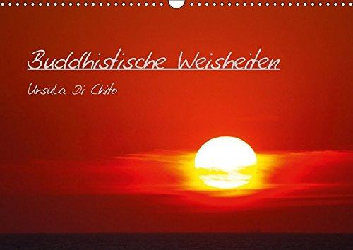 9783665054069: Buddhistische Weisheiten - CH Version (Wandkalender 2017 DIN A3 quer): Buddhistische Ratschläge fürs Leben (Monatskalender, 14 Seiten )