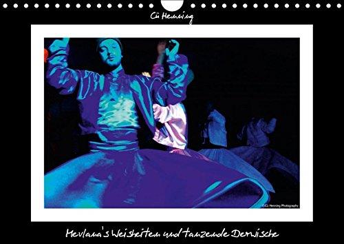 9783665057831: Mevlana's Weisheiten und tanzende Derwische (Wandkalender 2017 DIN A4 quer): Fotos der tanzenden Derwische in Farbe (Monatskalender, 14 Seiten )